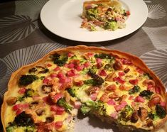 ❤ Hartige taart met Broccoli