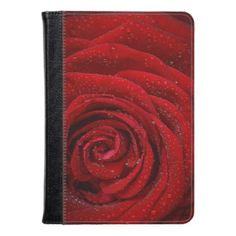 HAMbWG - Kindle Fire HD/HDX Folio Case - Red Rose - I Pad Case - ipad  2 - ipad 3 - ipad 3 - ipad mini - ipad kindle - ipad air ipad fire - folio cases you can customize - Or choose one of our great designs - Add your name or statement