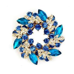 Buyinhouse Ladies Girls Golden Plated Flashing Rhinestones Crystals Bauhinia Flower Chinese Redbuds Brooches Corsage Pin Clips Suitable for Variety Clothes and Any Occasions(Turquoise Blue Style) Buyinhouse http://www.amazon.com/dp/B00JQU5KLE/ref=cm_sw_r_pi_dp_GQX8ub0Z84VF9