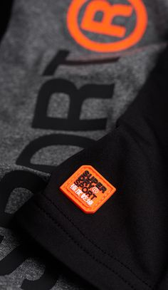 SUPERDRY SPORT DIVISION LABEL