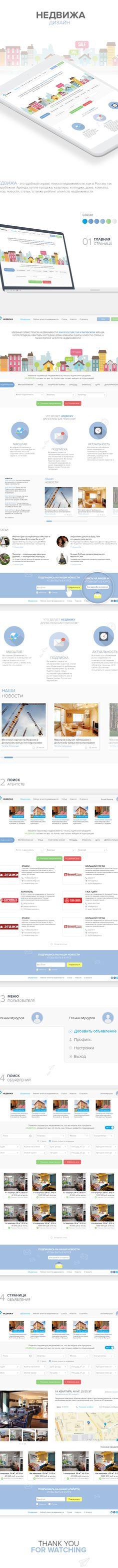 Nedvizha.ru on Behance