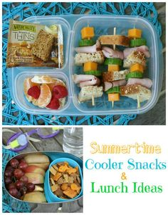 Healthy cooler snacks and lunch ideas - Family Fresh Meals