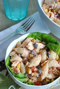 BBQ Pasta salad | Flickr - Photo Sharing!
