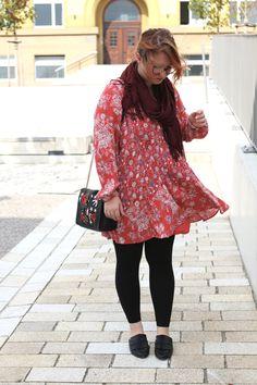 Alltagslieblinge -OOTD- Free People Kleid, Mules hundm; Zara - Tasche mit Stickereien
