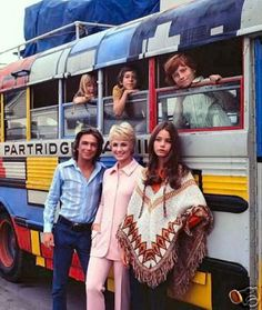 "The Partridge Family --""Hello world, here's a song that we're singin'   Come on get happy!"""