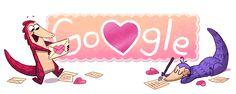 ❤️ #PangolinLove. ¡Feliz Día de San Valentín! #GoogleDoodle
