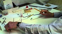 Choo Choo Barn - How to make a Miniature Lamp Post, via YouTube.
