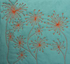 LOVE THIS!!! Fiber Artist Journey: Fireworks FreeMotion Quilting Design