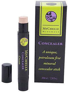MyChelle Minerals Concealer Stick Cream | $10 Great for travel & gives under eyes a very hydrated look