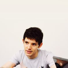 Merlin // Colin Morgan at SDCC 2011.