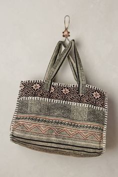 Woodcut Duffel Bag by Cleobella