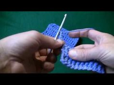 How To Triple Crochet: Left Handed Left-handed crochet tutorial. Very easy inst. How To Triple Crochet: Left Handed Left-handed crochet tutorial. Very easy inst… How To Triple Cr Crochet Kids Scarf, Crochet Crowd, All Free Crochet, Crochet Yarn, Hand Crochet, Hand Knitting, How To Triple Crochet, Triple Crochet Stitch, Learn To Crochet