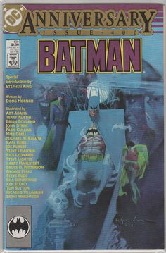 Batman Vol 1 400 Comic Book.  NM Oct 1986.  by RubbersuitStudios #batman #billsienkiewicz #comicbooks