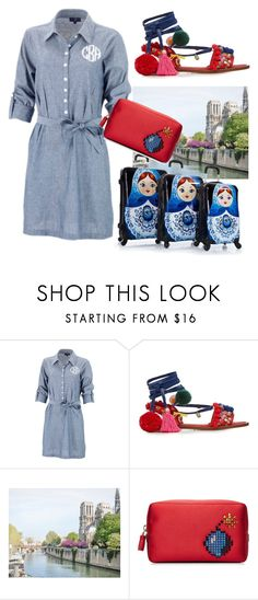 """""""Road trip style"""" by subvilli ❤ liked on Polyvore featuring Dolce&Gabbana, Anya Hindmarch, roadtrip and polyvoreeditorial"""