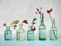 Decoración con botellas de vidrio: ¡Recicla y renueva tu espacio! | Tendencias - Decora Ilumina