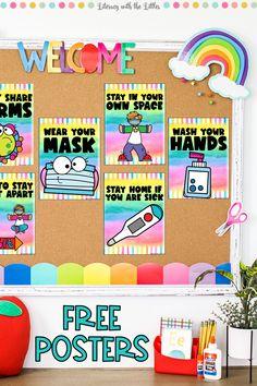 Kindergarten Classroom Decor, Classroom Rules, Classroom Posters, Classroom Setup, Classroom Design, Future Classroom, Classroom Organization, Classroom Management, Beginning Of The School Year