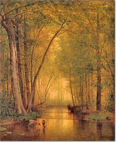 Thomas Whittredge (1820 – 1910) – Pintor Americano_14