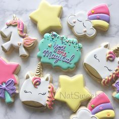 "1,199 Likes, 28 Comments - Natasha (@natsweets) on Instagram: ""Bright Unicorns """