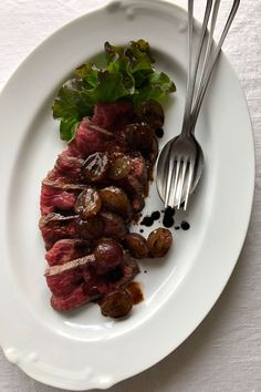 Gourmet Recipes, Cooking Recipes, Grill Pan, Junk Food, Japanese Food, Steak, Grilling, Food And Drink, Beef