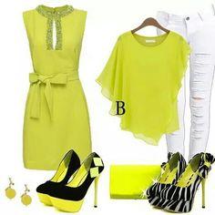 En verde limón