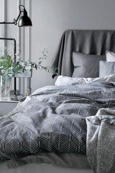 #H&Mhome #grey #bed