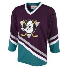 Reebok Anaheim Ducks CCM Classic Anniversary Throwback Jersey -  Purple Turquoise 3f315bc7f