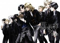 Kuroshitsuji Anime Cheslock Personaje Ciel Phantomhive Personaje Clayton Personaje Edgar Redmond Personaje Edward Middleford Personaje Gregory Violet Personaje Herman Greenhill Personaje Joanne Harcourt Personaje Lawrence Bluer Personaje P4 (Group) Character Group