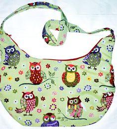 Thementaschen - Must Have... Deine neue, angesagte Eulentasche - ein Designerstück von Die-Fadenhexe bei DaWanda