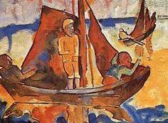 Fishing Boats Karl Schmidt-Rottluff
