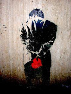 love in street art