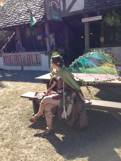 Magnolia Fawn taking a break at the TRF 2013