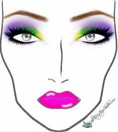 Walk In My Eye Shadow: Makeup Monday - Rainbow Sugarpill Look