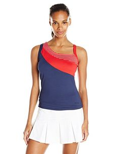 Boll Womens All American Color Block Tank Top Navy Medium *** Visit the image link more details.