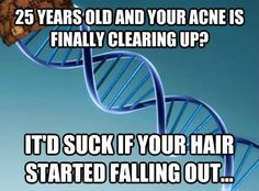 F U, DNA.