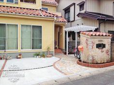 オープン外構 ナチュラル 門まわり モルタル造形 Outdoor Decor, Home Decor, Decoration Home, Room Decor, Home Interior Design, Home Decoration, Interior Design
