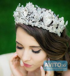 Корона для невесты. Диадема для невесты. Выпускной 2016.Прокат продажа Алматы…