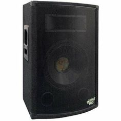 From live gigs to DJ events and backyard parties this Pyle RMS speaker delivers impressive sound. The Pyle Pro speaker uses 2 way functionality to fill your venue with outstanding audio. Home Audio Speakers, Small Speakers, Bookshelf Speakers, Outdoor Sound System, 15 Subwoofer, Component Speakers, Cool Bookshelves, Sound Stage, Speaker Wire