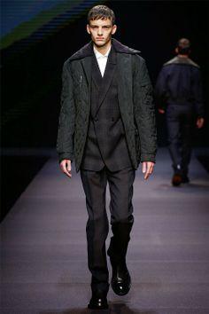 Ermenegildo Zegna Fall Winter 2014 – Milan Men s Fashion Week Semanas De  Moda d4d84cf1bf5d