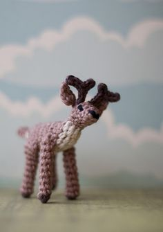 Amigurumi Stephen The Stag - Free Pattern