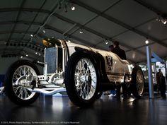 Twitter / MBClassicCenter: 1909 Blitzen Benz at the Mercedes-Benz Star Lounge at the 2011 Pebble Beach Concours d'Elegance.