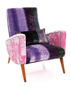 Tricia Guild chair upholstery. Designers Guild Fabrics and wallpapers can be purchased through www.janehalldesign.com
