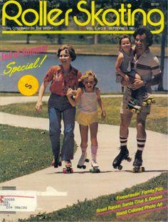 Roller skating - freewheeling family fun!
