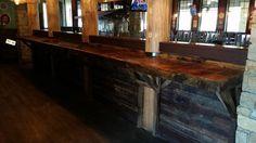 Built this bar for The Mellow Mushroom