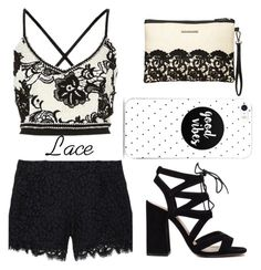 Lace Shorts by who-the-hell on Polyvore featuring мода, Rachel Zoe and Dorothy Perkins