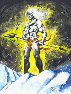Shiva the warrior