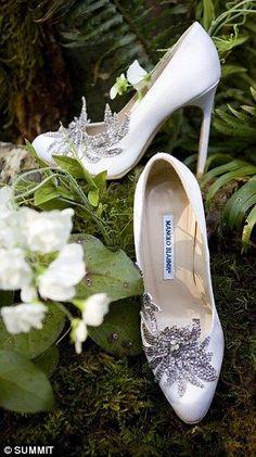 Twilight wedding shoes, Manolo