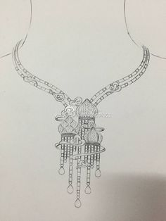 Back for Ann Fashion Design Sketches, Sketch Design, Floral Embroidery Patterns, Embroidery Designs, Jewelry Patterns, Beading Patterns, Wedding Dress Sketches, Jewelry Design Drawing, Neckline Designs