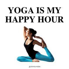 Yesssssssssss #happyhour #yoga