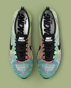Nike Flyknit Racer Multi Color