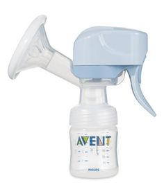 My breastpump gear: Phillips Avent Single Electric Breastpump. Very practical and comfortable to use.